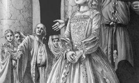 Юная леди Дейнейра Веларион на балу дня Девы