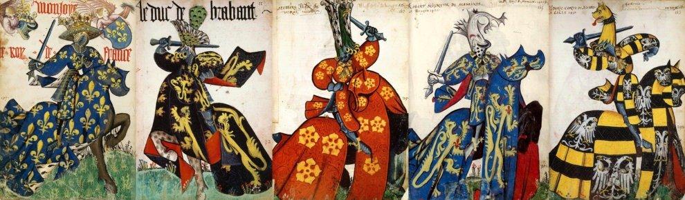 Большой гербовник рыцарей Золотого руна, или Большой конный гербовник Золотого руна (франц. Grand Armorial equestre de la Toison d'or) — бургундский гербовник середины XV века