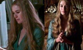 Голубое платье: нижнее платье и корсет