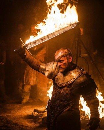 Горящий меч Берика