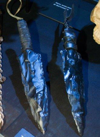 Наконечники копий из драконьего стекла, найденные на Кулаке Первых людей