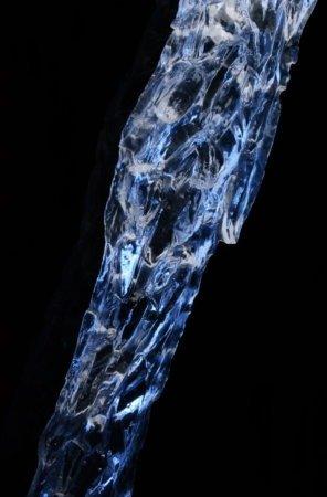 Клинок очень похож на кусок льда