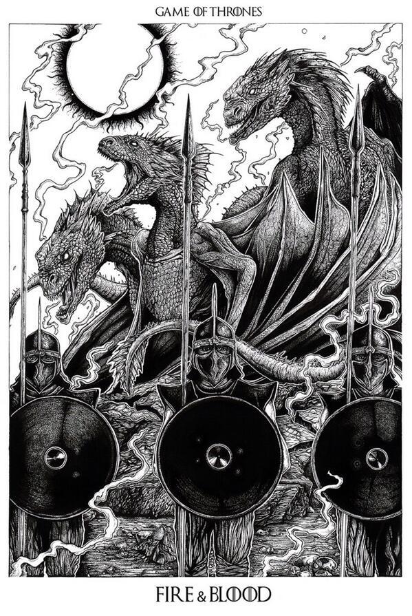 Три дракона Дейнерис