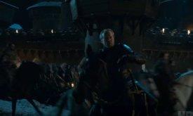 Джорах Мормонт — один из командующих армией живых, причем у него валирийский меч — Губитель Сердец