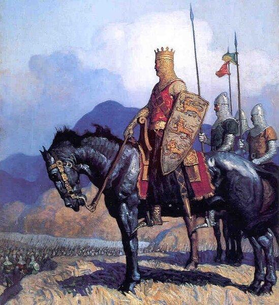Король Эдуард, худ. Newell Convers Wyeth (1882-1945)