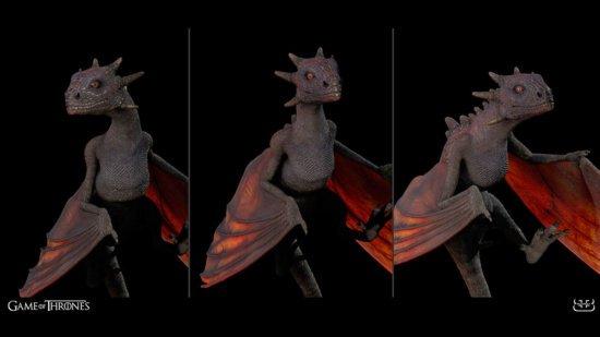 Модель дракона из 1-го сезона.