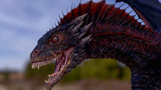 Глаза Дрогона в 3-м сезоне.