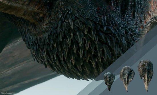 Чешуя на груди драконов