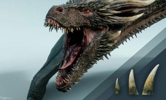 Текстуры и вариации зубов драконов