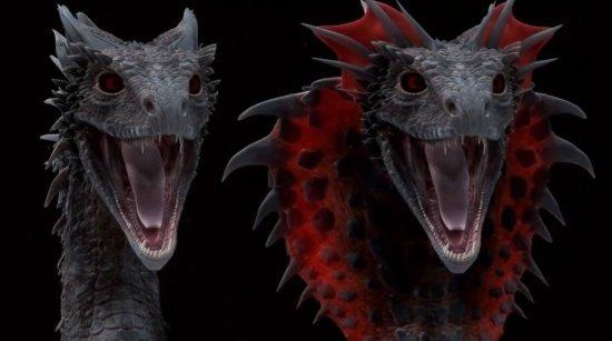 Рассерженный дракон (илл. Дэн Катчер)