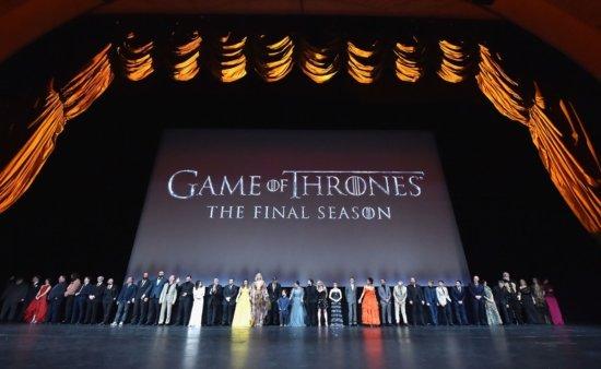 Премьерный показ первой серии 8-го сезона «Игры престолов»