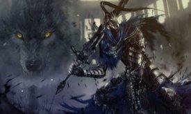 Иллюстрация по мотивам игры Dark Souls