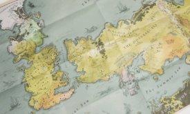 Карта мира для коллекционного издания Игры престолов