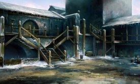 Двор Черного замка