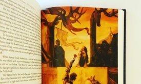 Пример иллюстрации: Лорас вручает Сансе розу