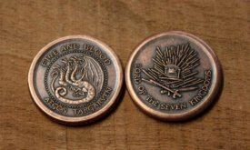 Монета Эйгона Завоевателя