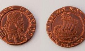 Бейлон Грейджой, объявив себя королем Железных островов, мог чеканить свою монету