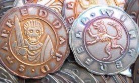 Декоративная монета в честь Эддарда Старка