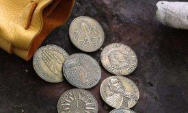 Эти же монеты в другом ракурсе