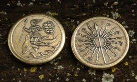 Монета Мартеллов с Нимерией