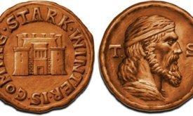 Монета королевства Севера с Теоном Старком