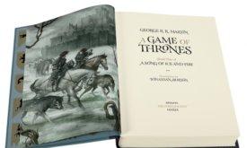 Иллюстрированная Игра престолов от Folio Society