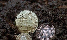 Монеты Севера: Рикард Старк, Робб Старк, Торрхен Старк и Эддард Старк