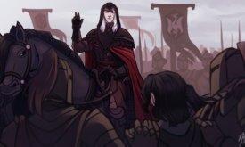 Кровавый Ворон у стен Белостенного