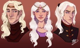 Дети Безумного короля: Рейгар, Дени и Визерис