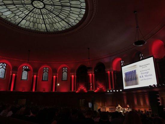 Джордж Мартин в Лондоне, фото @WaterstonesPicc