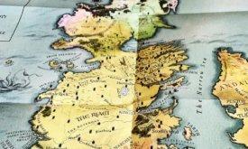 Карта Вестероса в подарочном издании Игры престолов