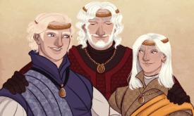Бейлон с уже взрослыми сыновьями