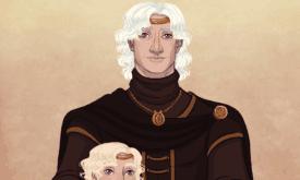 Бейлон с сыновьями после смерти жены