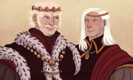 Взрослые Визерис и Деймон