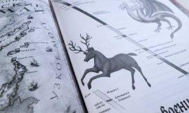 Иллюстрации в русской версии «Мира Льда и Пламени» (в серии «Гигантская фантастика»)