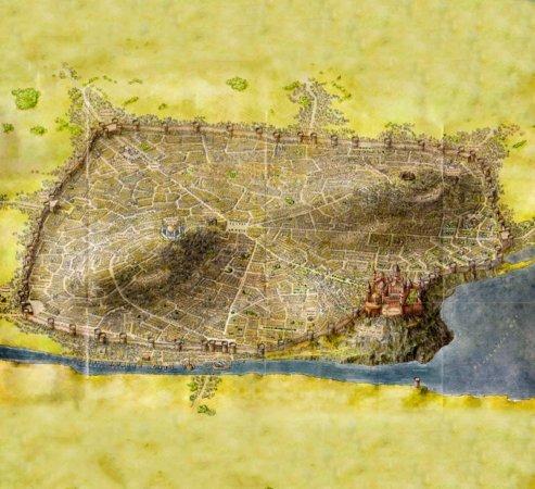 План из «Земель Льда и Пламени» (2012)