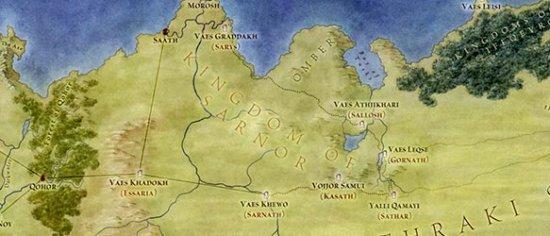 Сарна в «Землях Льда и Пламени» содержит ошибку…