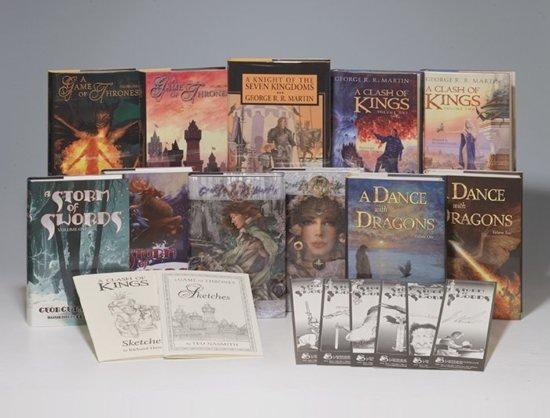 Книги Subterranean Press из цикла Песнь Льда и Пламени