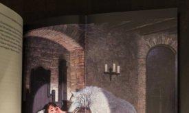 Фотография книги: сложенная вдвое вклейка