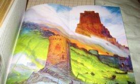 Сложенная вдвое цветная вклейка в Битве королей