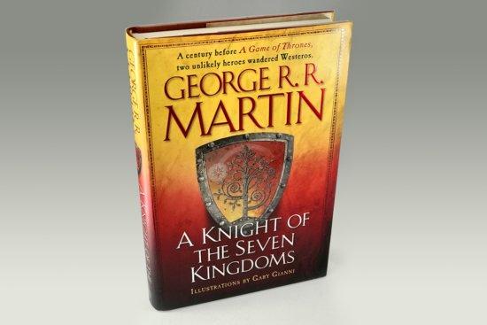 Американская версия «Рыцаря Семи Королевств» в суперобложке
