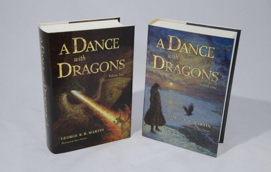 Иллюстрированный Танец с драконами
