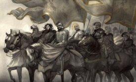 Прибытие короля Роберта в Винтерфелл