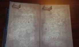 Карты на форзацах — скопированы и переведены из американских версий книги