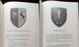 Гербы в приложениях взяты из «Мира Льда и Пламени»