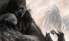 Костяной лорд настигает Куорена Полурукого и Джона Сноу