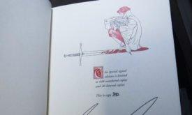 Фотография книги: страница с подписями