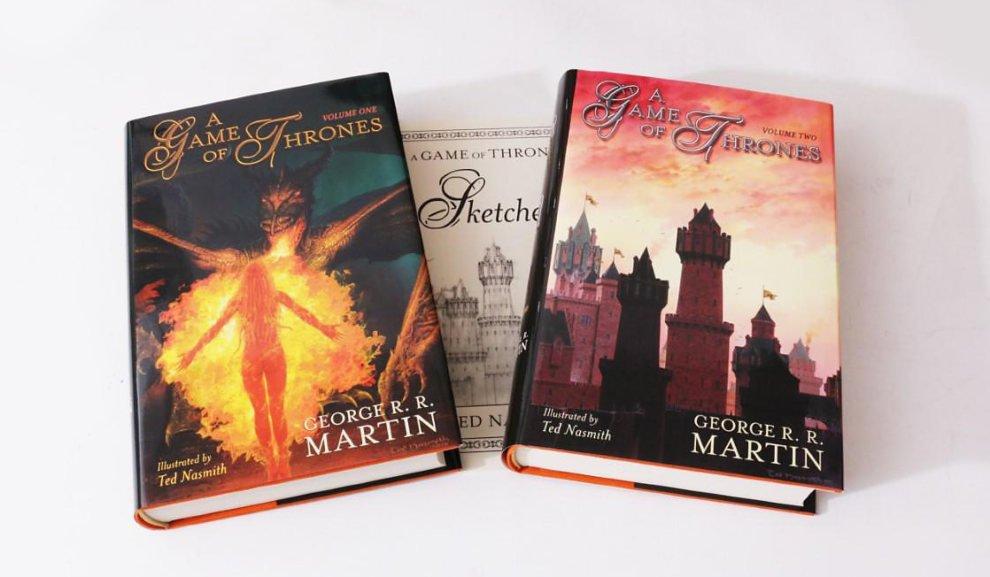 Игра престолов, издательство Subterranean Press, художник Тед Нэсмит