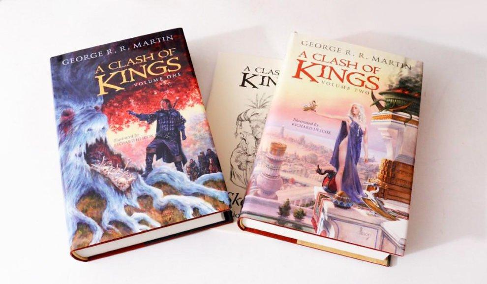 Битва королей, издательство Subterranean Press, художник Ричард Хескокс