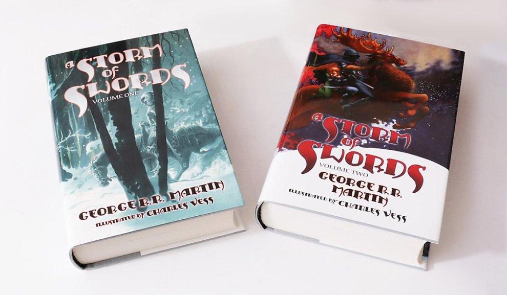 Буря мечей, издательство Subterranean Press, художник Чарльз Весс